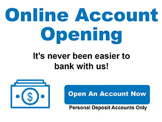 Online Account Opening promo