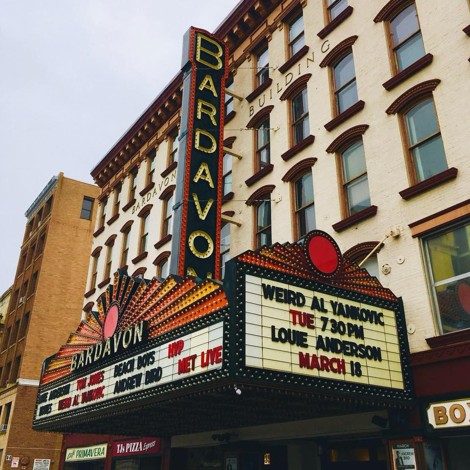 Bardavon - marquee photo